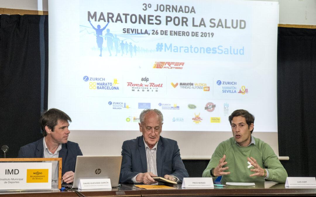 Los organizadores de maratones de España se citan en Sevilla para su III encuentro por la Salud