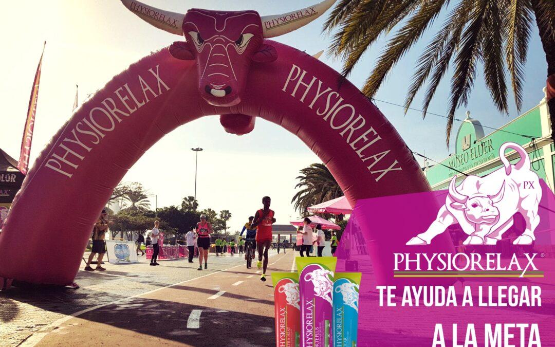 Physiorelax, la crema deportiva de la Zurich Maratón de Málaga