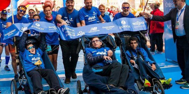 La ataxia telangiectasia seguirá en los cuatro grandes maratones Zurich 2020