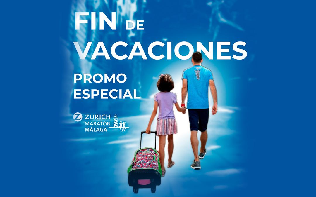 """Promoción especial """"Vuelta de vacaciones"""""""