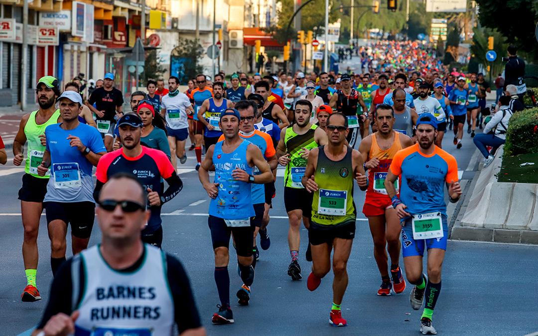 Zurich Maratón Málaga:  un recorrido para soñar